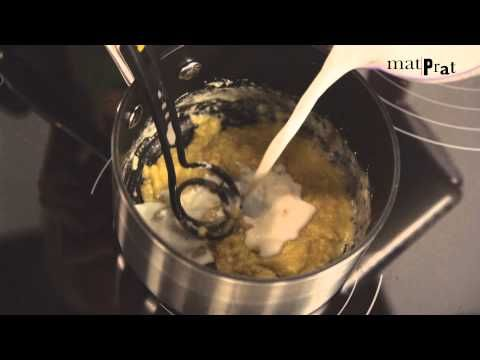 Slik lager du hvit saus