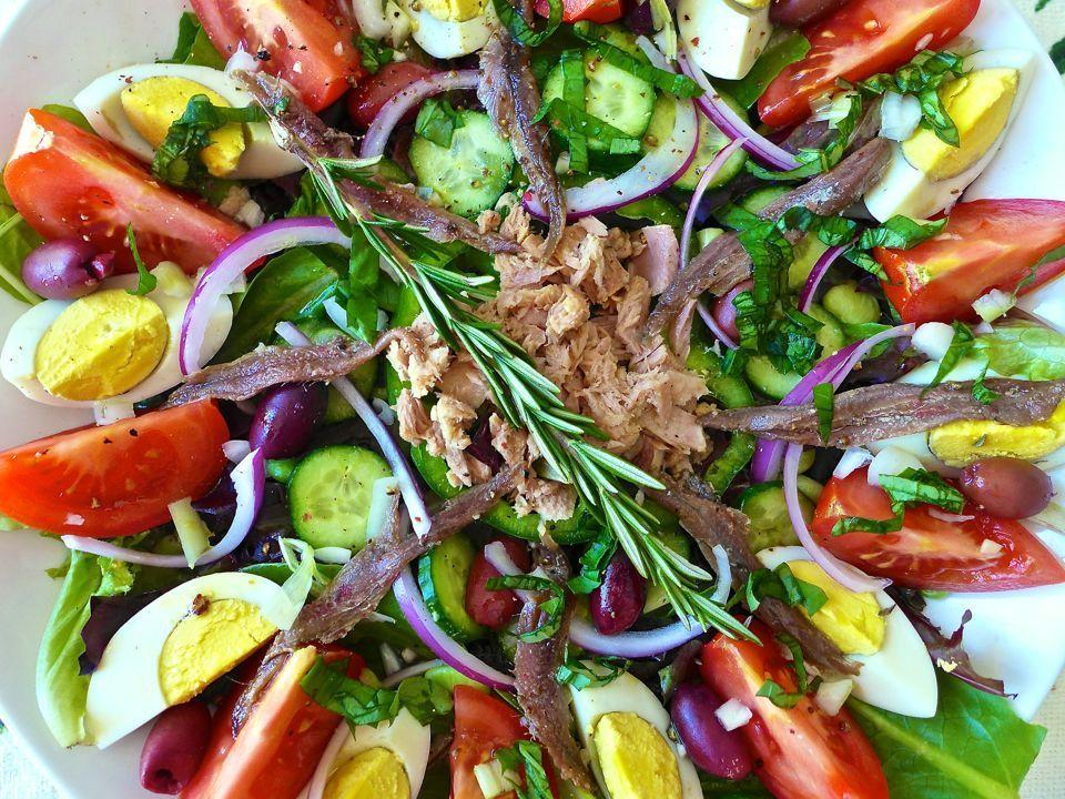 Salade Niçoise - Recette Authentique | 196 flavors