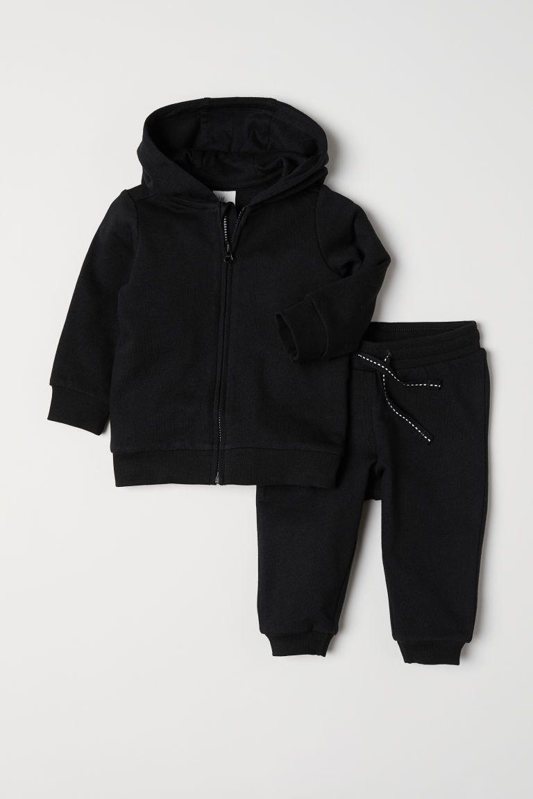 2 Piece Cotton Set Black Kids H M Us Baby Girl Pants Boy Outfits Toddler Clothing Stores [ 1152 x 768 Pixel ]