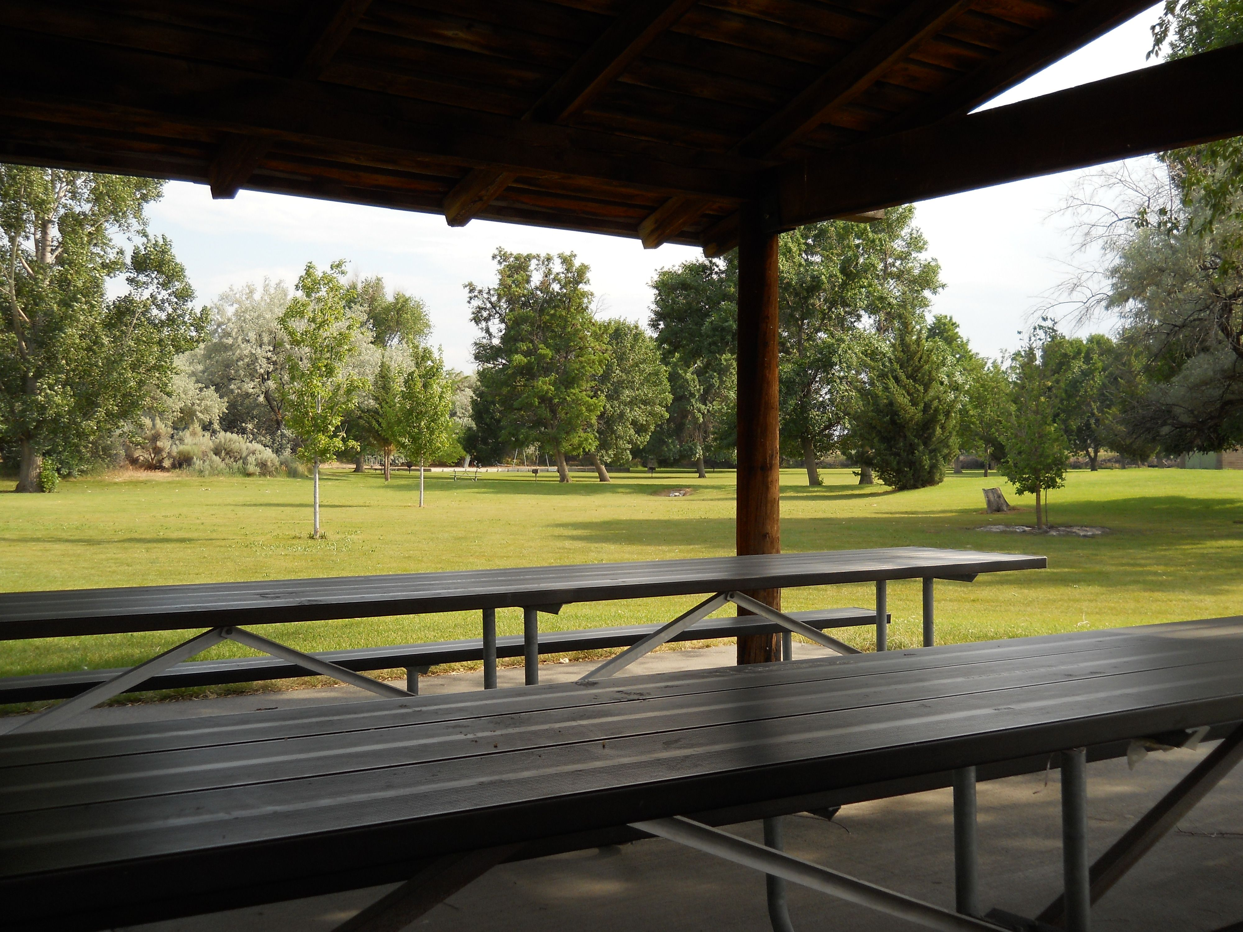 The stage Outdoor tables, state park, Outdoor decor