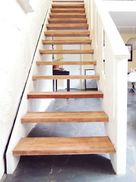 Best Solid Wood Stairs – Finished Wood Stairs Stairs Modern Diy 640 x 480