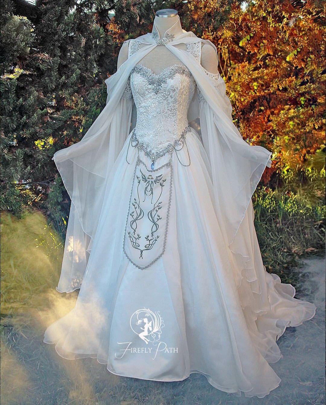 Legend Of Zelda Wedding Gown