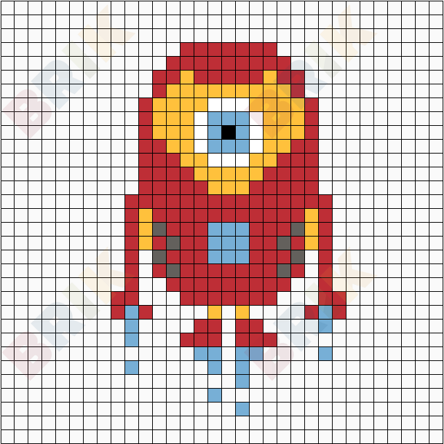 Pin By Zory Rodz On Perler Minions Minion Superhero Pixel