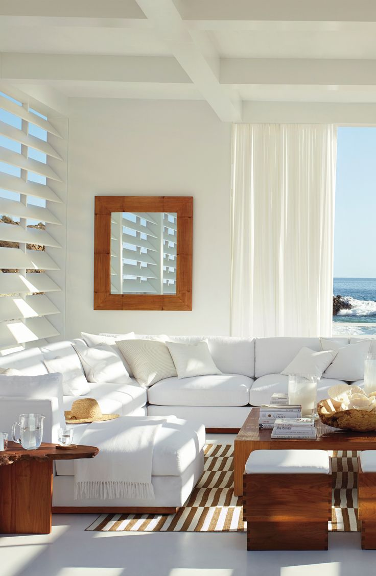Coastal decor is welcoming and modern with Ralph Lauren Paint ...