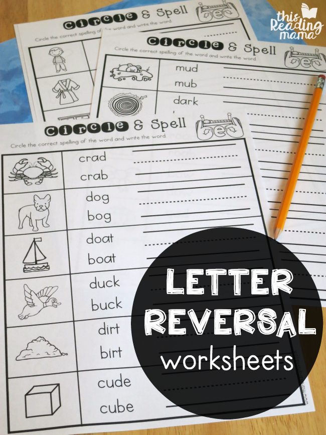Letter Reversal Worksheets | Writing and Learning | Handwriting