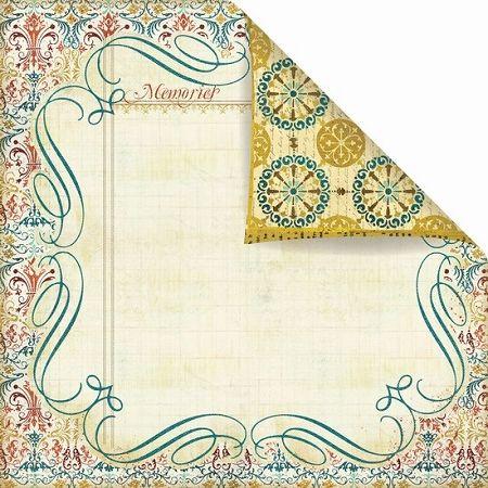 Prima Cardstock - Reflections Flourish,$0.79