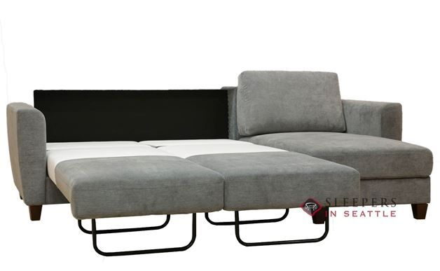 Luonto Flex Loveseat Chaise Sectional Sofa in Lens 212 ...