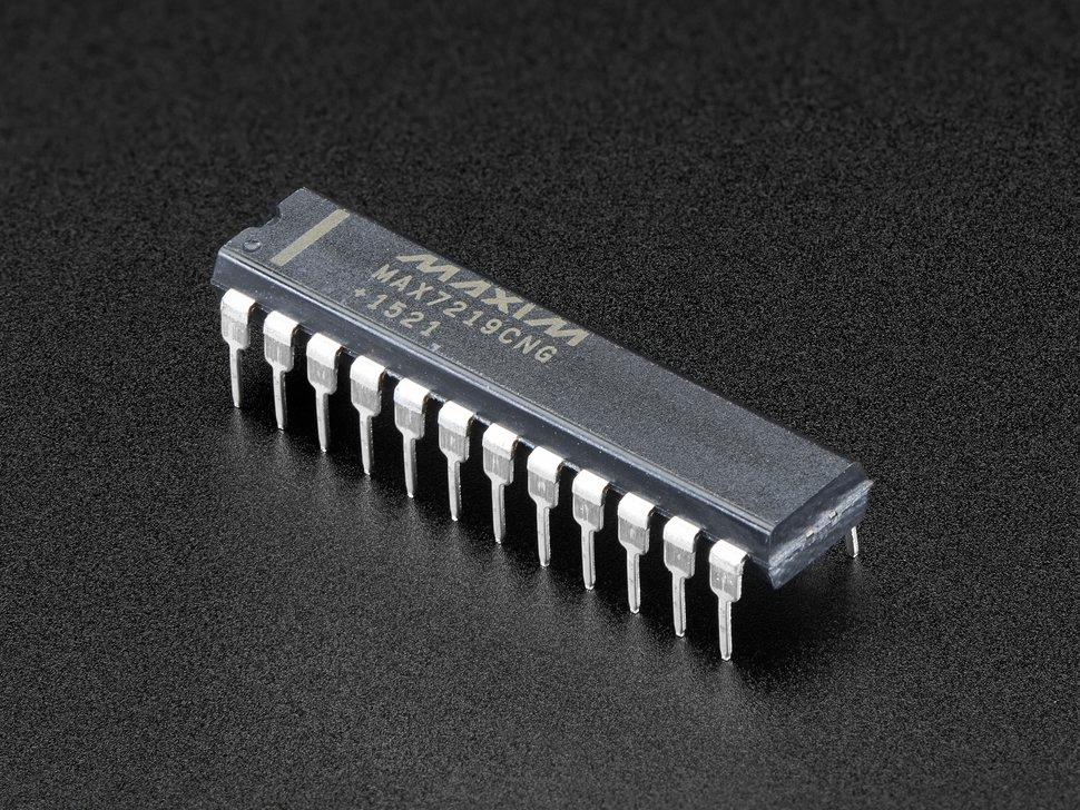 Max7219cng Led Matrix Digit Display Driver In 2020 Led Diy Electronics Hobby Electronics