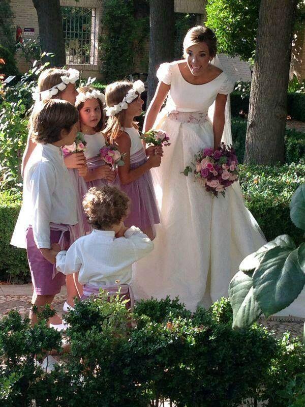 El Block Wedding | Inspiracion Para Nuestros Ninos Paje Y Flower Girls El Blog De