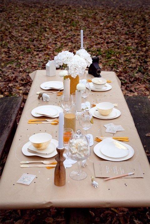 50 Ways To Incorporate Kraft Paper Into Your Wedding Decor Hywedd