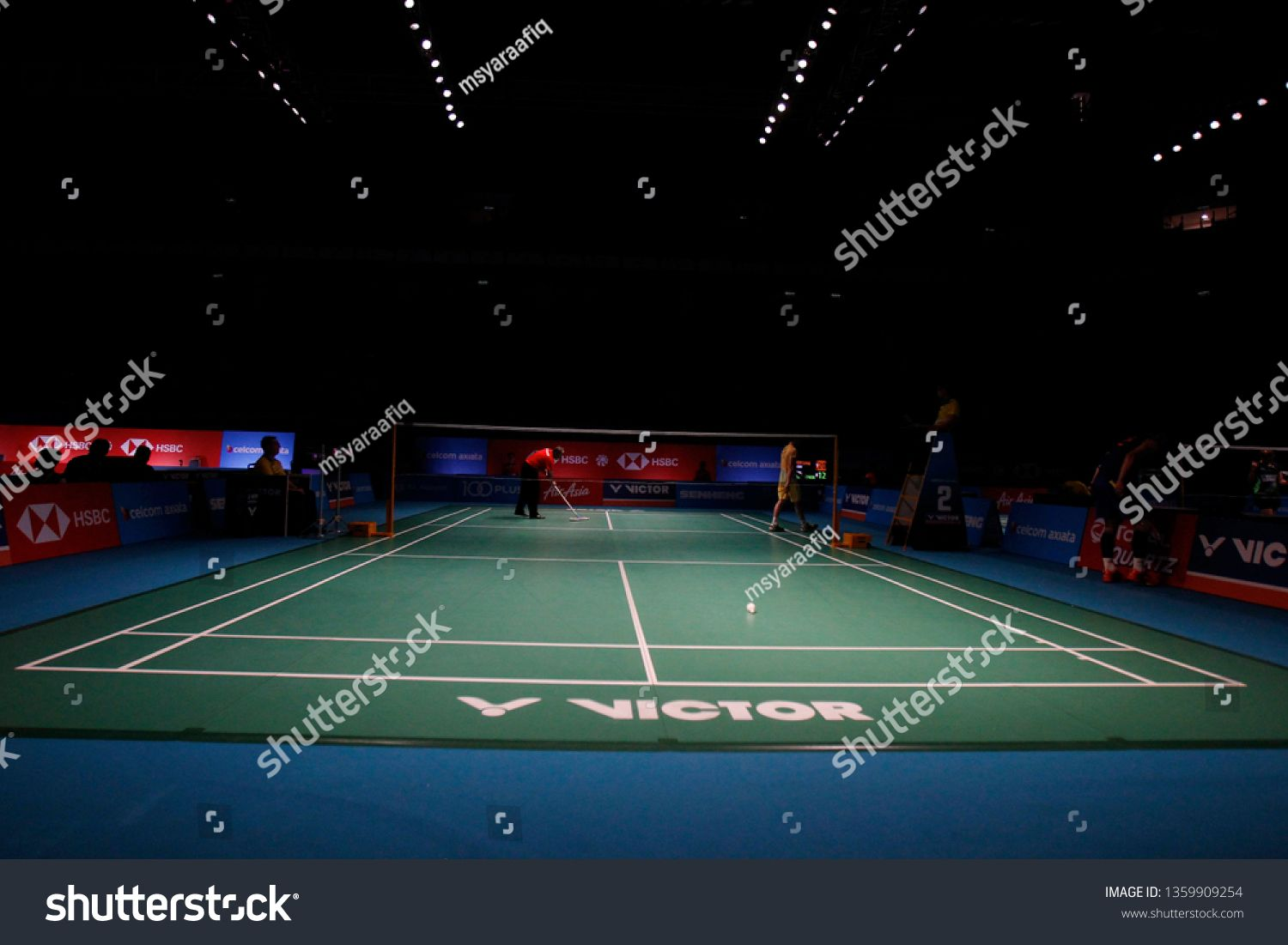 Chen Long Of China In Action On Day Three Of The Badminton Malaysia Open At Axiata Arena On April Colorful Business Card Professional Business Cards Badminton