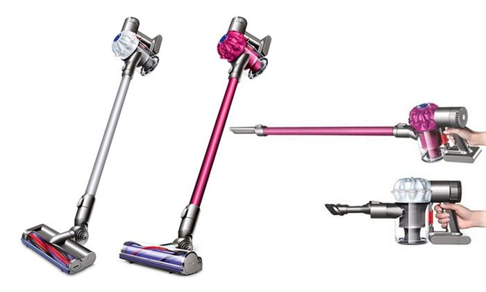 Dyson V6 Stick Vacuum Cleaners: Dyson Origin or Motorhead V6 Stick Vacuum Cleaners (Refurbished)