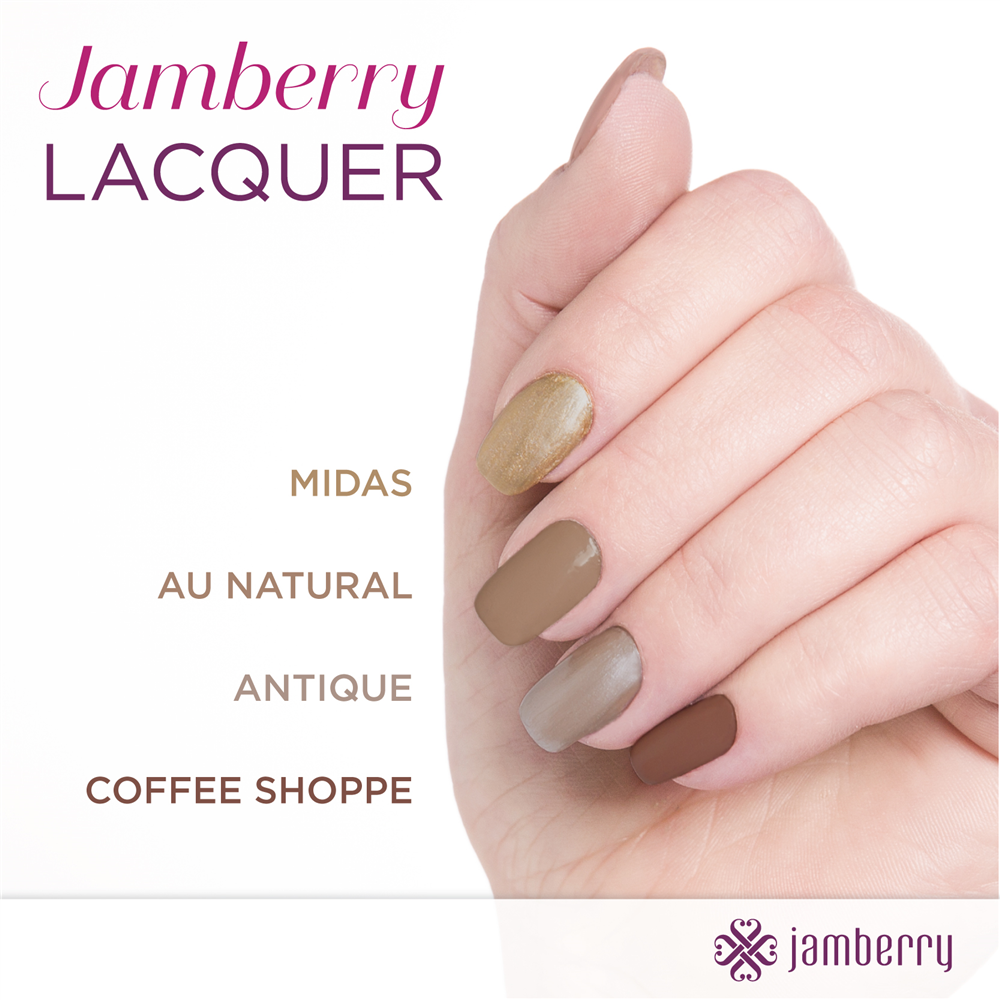 These neutrals are gorgeous!!  Shop at:  desireewatkins.jamberrynails.com