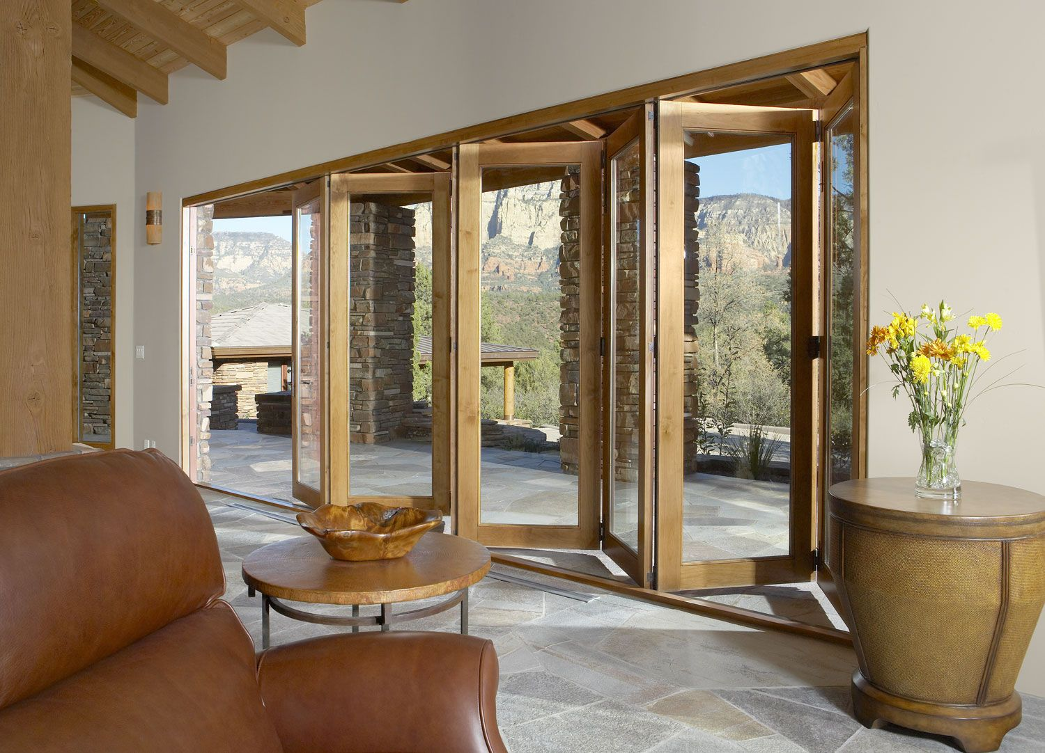 Folding Outswing Door | Bi Fold Systems | Vista Pointe Architectural Systems