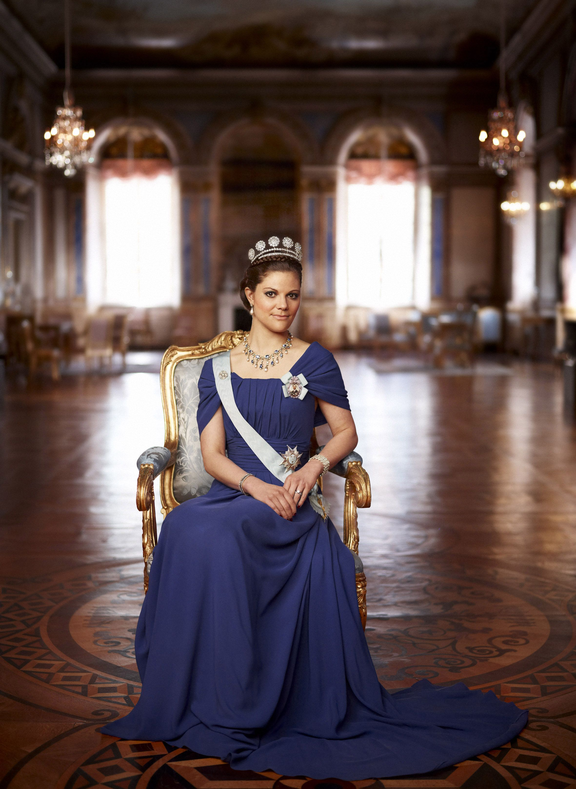 Royal Crown Princess Victoria of Sweden