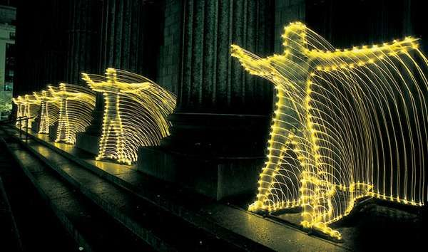 Art Made From Light is Headed to the Mainstream #graffiti trendhunter.com
