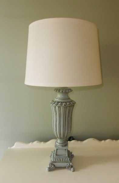 How To Paint Brass Lamps. Via Oopsredone.blogspot