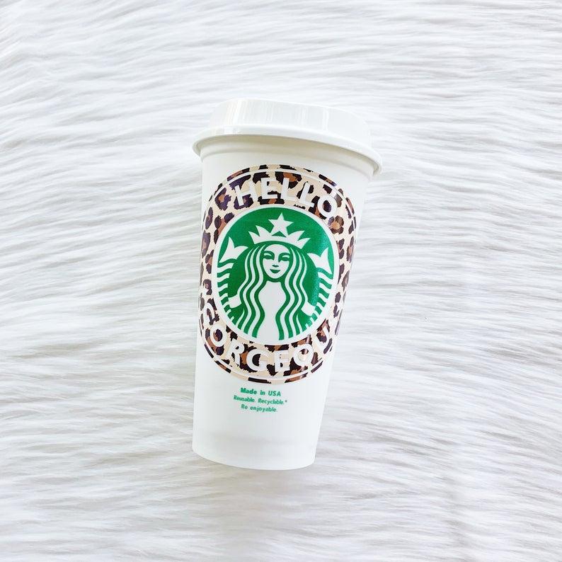 Hello Gorgeous Starbucks Cup Best Friend Gift For Mom Gift Etsy Starbucks Cups Starbucks Custom Starbucks Cup
