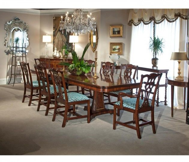 Chippendale Dining Room Alluring Small Rushmore Chippendale Style Classic Mahogany Chair Side Inspiration Design