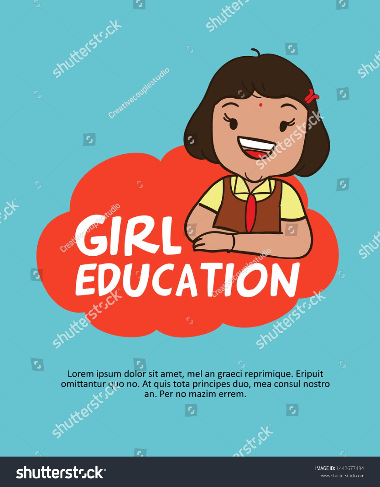 Cute Indian School Girl Cartoon Character Save Girl Girl Education Images Vector Royalty Free Image In 2020 Girl Cartoon Girl Cartoon Characters Cartoon Girl Images