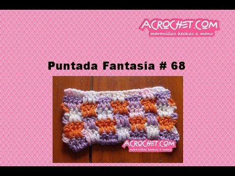 Blog Acrochet Puntada Fantasia # 08 - YouTube | Vídeos de croche ...