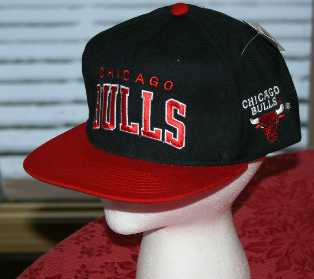 0742bbd3102 New Vintage Chicago Bulls NBA Starter Snapback Wool Cap basketball Hat-sewn  NWT