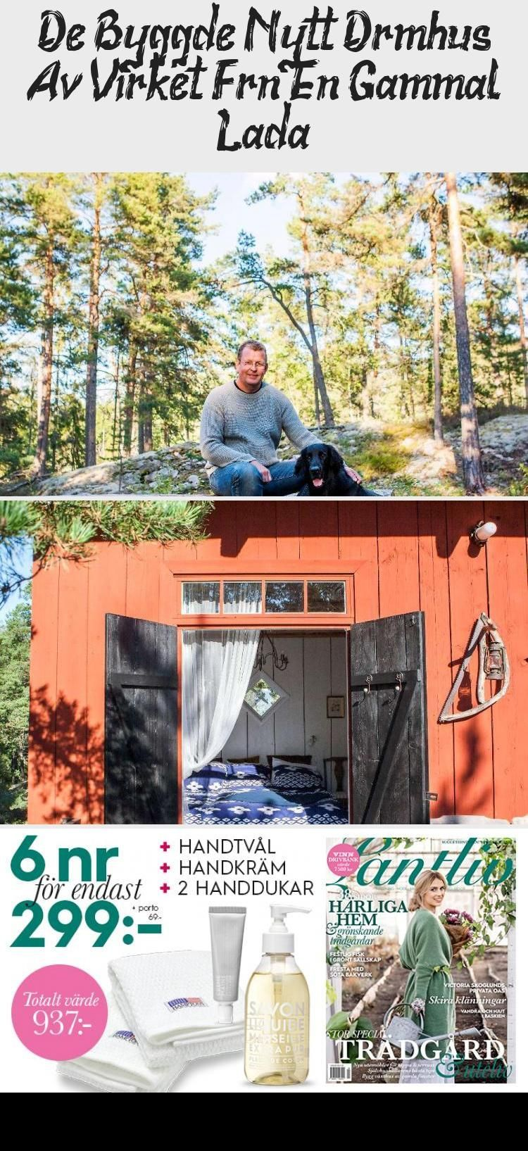 They built a new wooden dream house from an old barn – home …