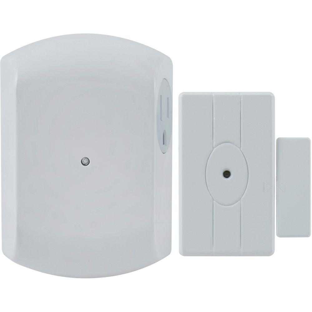Ge Wireless Door Activated Light Control With Grounded Receiver
