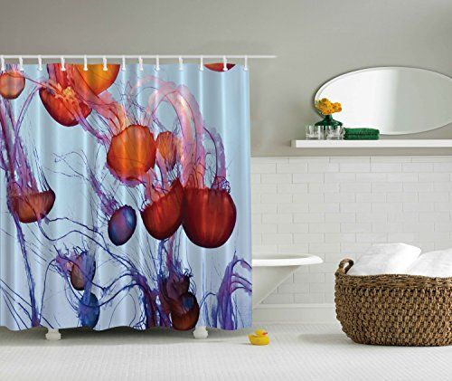 Contemporary Bathroom Art Prints abstract jellyfish art ocean love contemporary artwork sea life