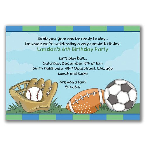 Sports madness invitations for boys birthday party by milelj 2200 sports madness invitations for boys birthday party by milelj 2200 filmwisefo Image collections