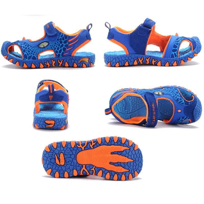 a7086a0788fc 2017 children summer shoes 3D dinosaurs fashion boys sandals cut out  non-slip boys beach shoes for kids boy - 10 MINUS