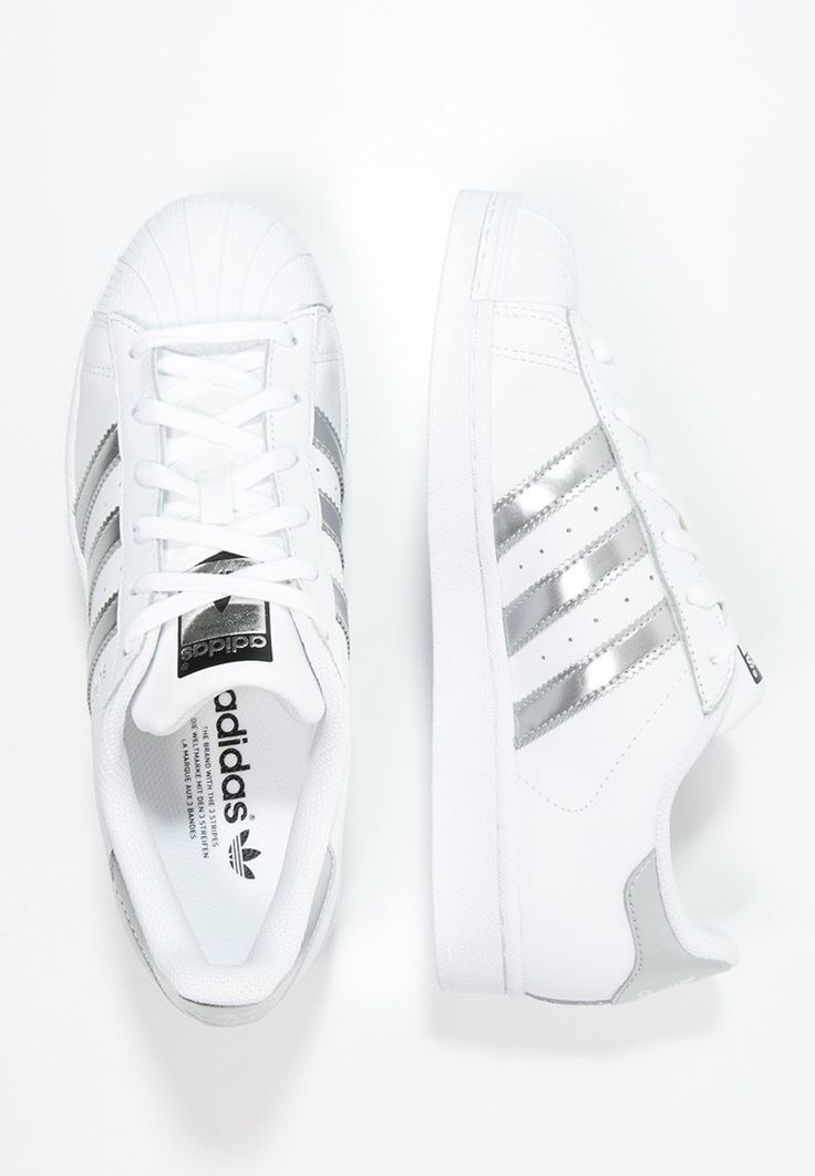 Adidas Women Shoes - adidas Originals SUPERSTAR - Tenis�wki i Trampki -  white/silver metallic/core black za 349 zl zam�w bezplatnie na Zalando.