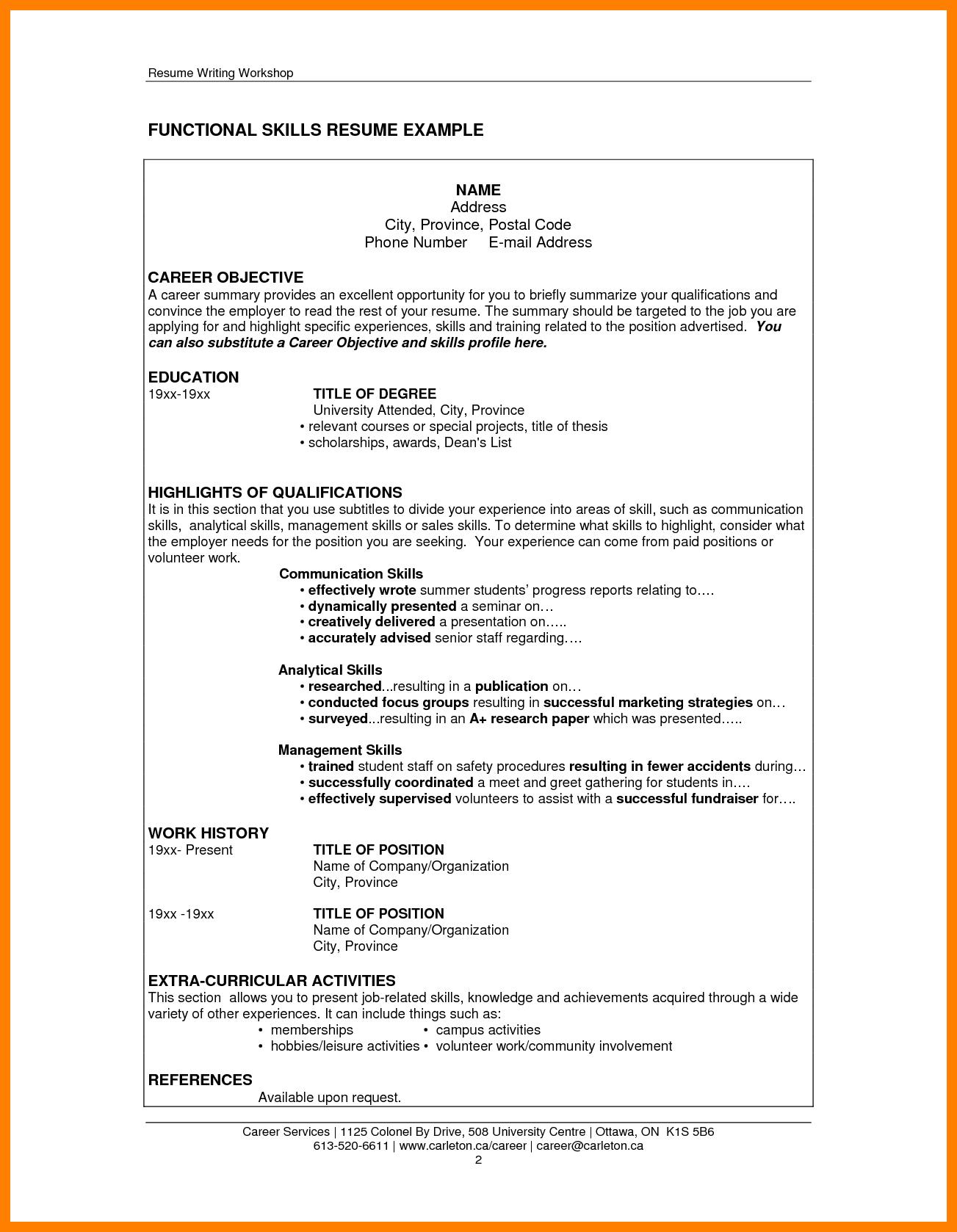 Skills On Resume Examples Skills On Resume Examples 99 Key Skills For A Resume Best List Of Examples For All Resume Skills Resume Examples Job Cover Letter