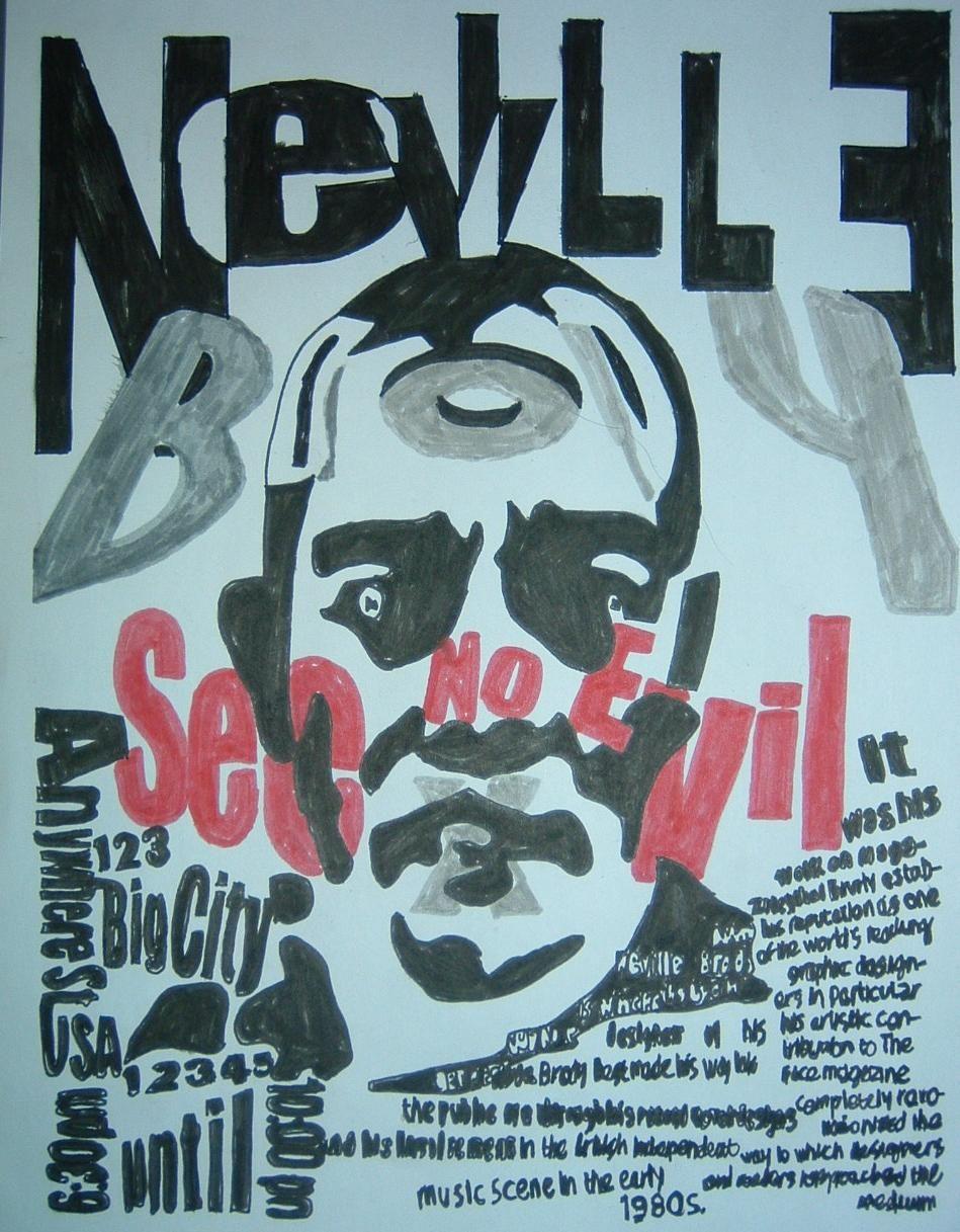 Neville brody portrait