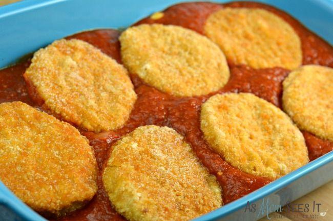Easy Weeknight Chicken Parmesan Chicken Patty Recipes Chicken Patties Chicken Patty Parmesan