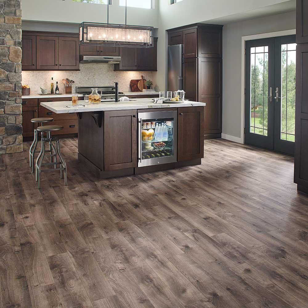 In wide x 47 6 in - Pergo Xp Warm Grey Oak 8 Mm Thick X 6 1 8 In Wide X 47 1 4 In Length Laminate Flooring 16 12 Sq Ft Case