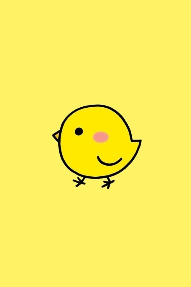 Very Simple Girl Wallpaper Cute Little Chicken Cute Animals In 2019 Chicken
