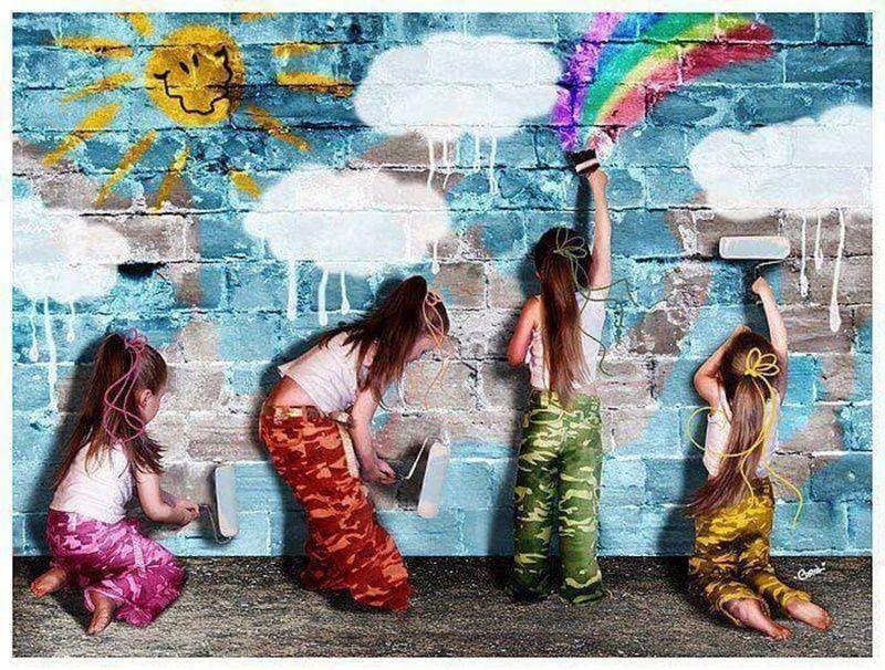 жила мы сами рисуем свой мир картинки более