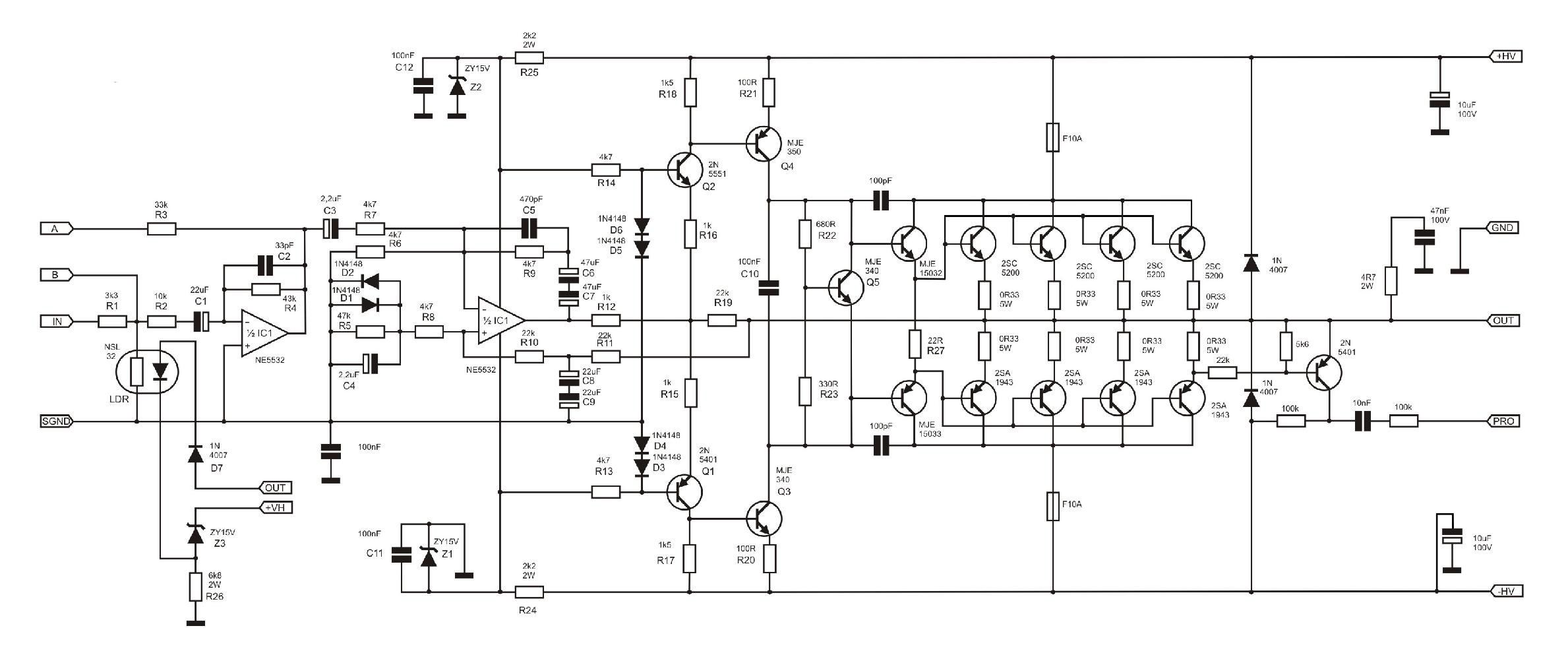 Diagrams Diagram Images About High Power Amplifier Designs On Electronic Projects Circuit