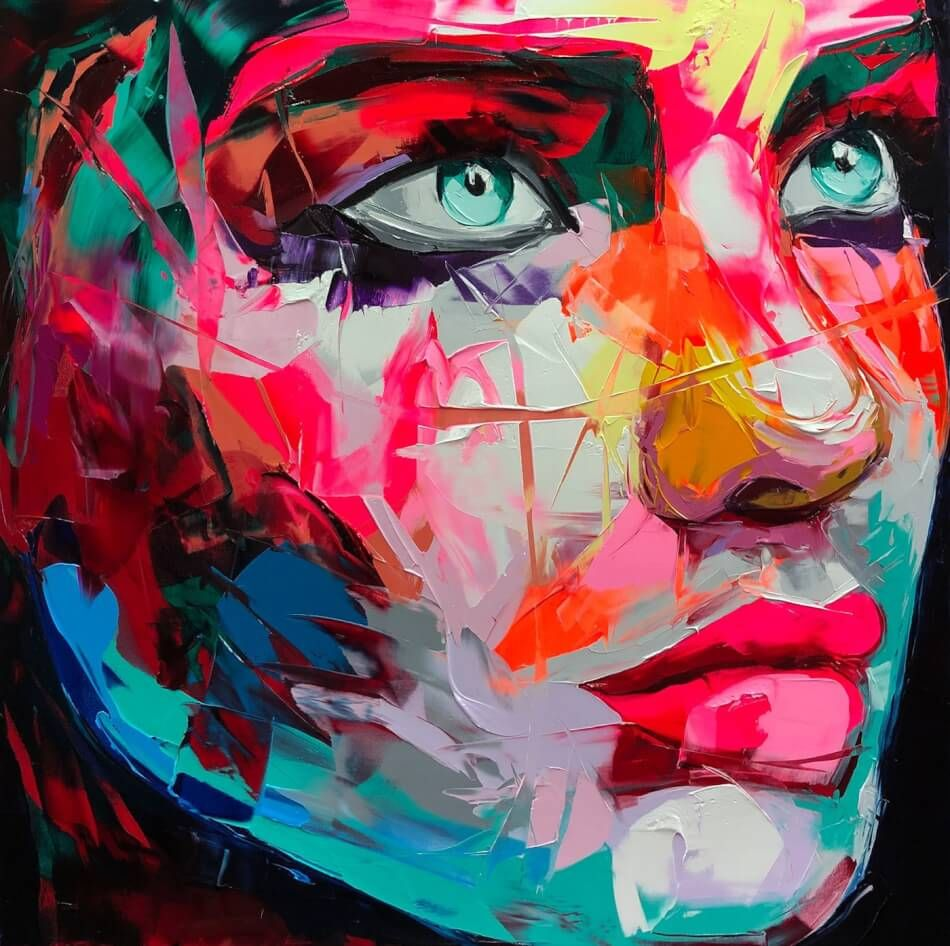 Rainbow Portrait With Images Sketch Painting Illustration