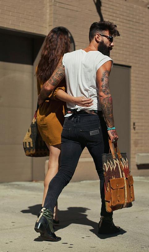 Hombres con bolsos, a animarse, ultima tendencias