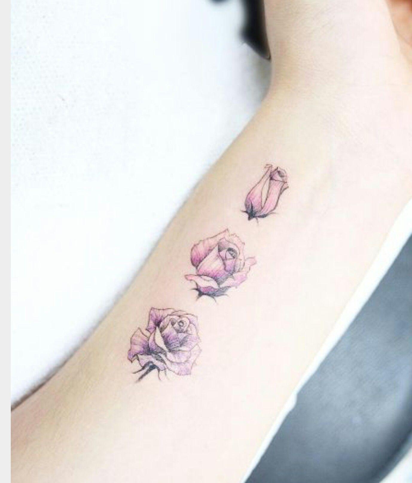 Blooming Flower Tattoo Tattoos And Piercings Pinterest