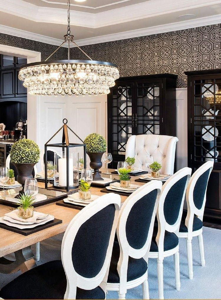 38 Classy And Elegant Dining Room Ideas Dining Room Centerpiece Luxury Dining Room Elegant Dining Room