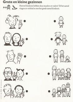 kleurplaten thema familie