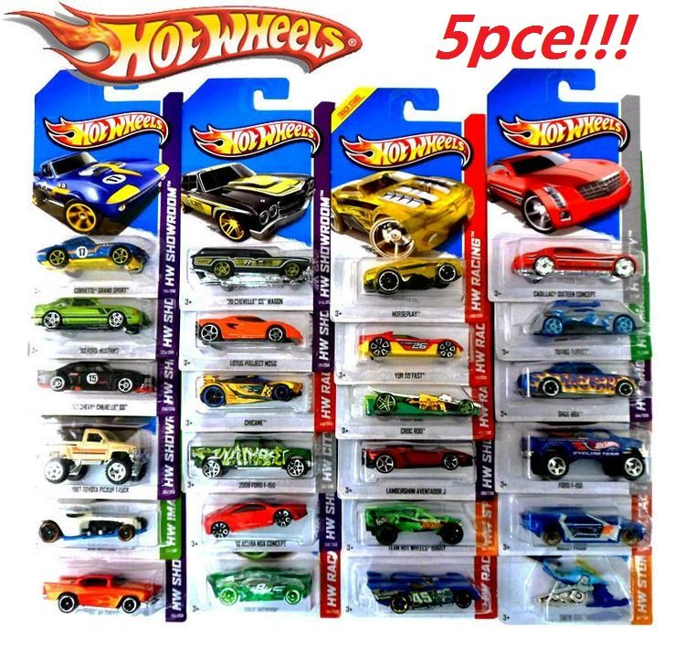5 pcs metal car mode antique collectible toy cars for sale hotwheels ...
