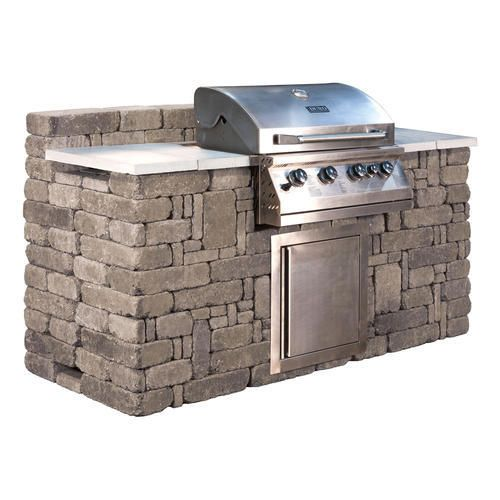 Lexington Grill Enclosure At Menards 1300 After Mail In Rebate Including Propane Grill Outdoor Kitchen Outdoor Grill Built In Grill