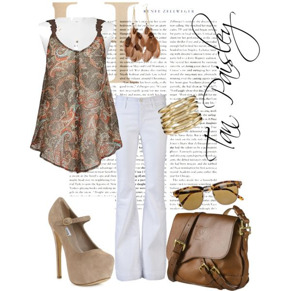 Tan Paisley, created by charlotte-bilton-carver on Polyvore