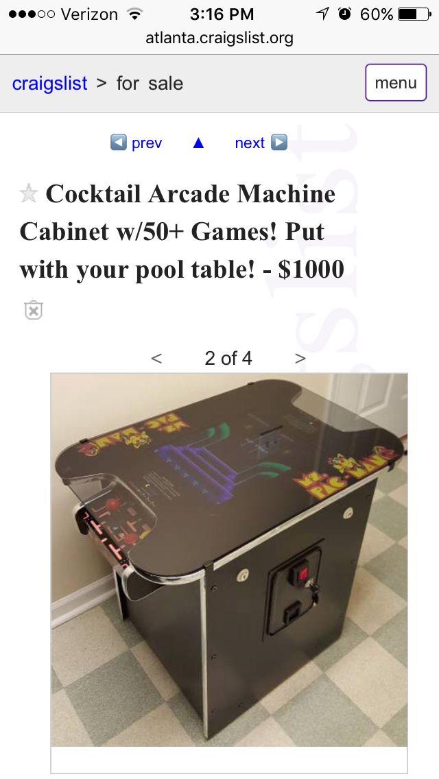 Arcade Games Cocktail Arcade Machine Arcade Machine Arcade
