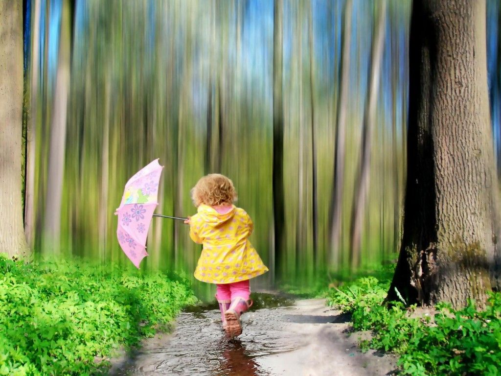 Pin By Letitia Wadel On Photography Children Wallpaper Rain