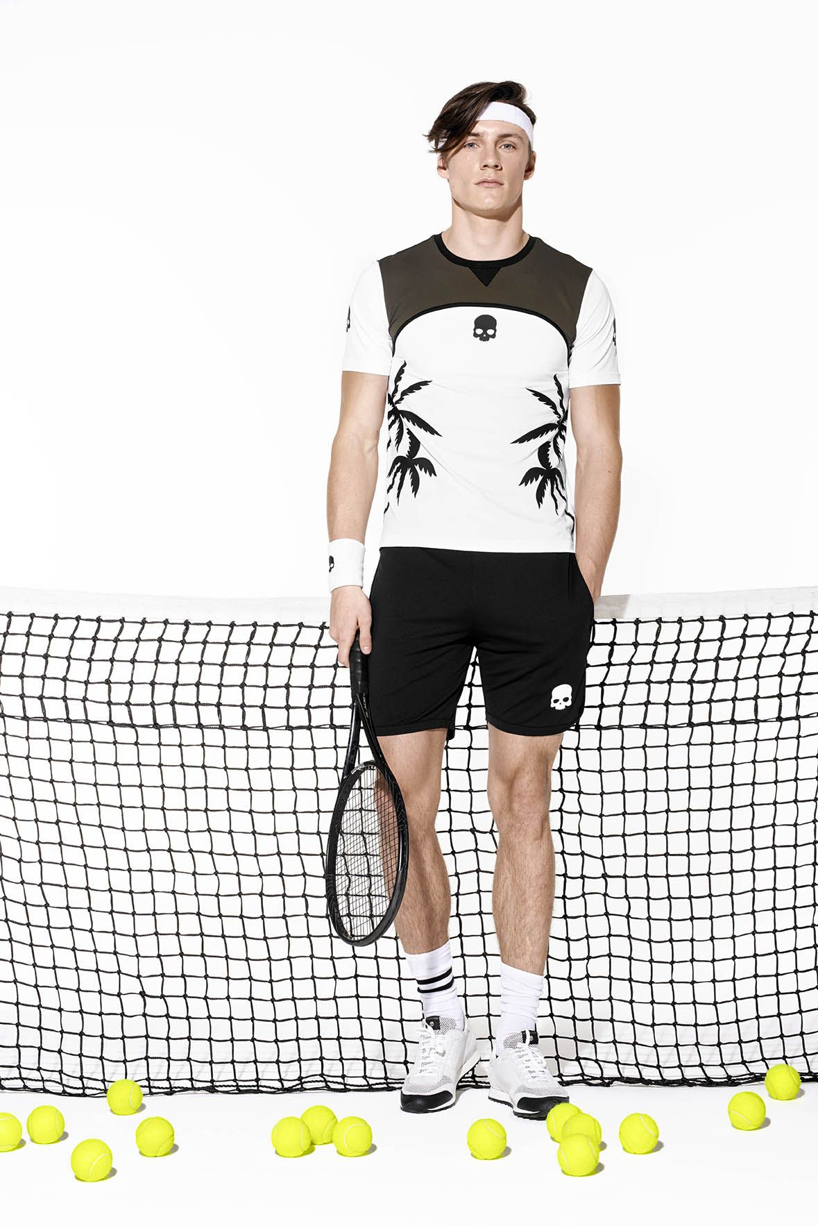 Explore the Hydrogen Tennis collection with the skull logo worn by Simone  Bolelli. #palms · Skull LogoThe SkullsPalmsExploreTennisSportswearStyleTop  ...